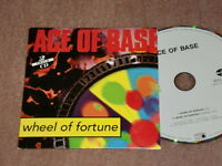 ACE OF BASE - WHEEL OF FORTUNE / CARDSLEAVE 2 TRACK MAXI-CD 1993