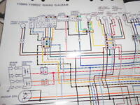 s l200 yamaha oem factory color wiring diagram schematic xj700n xj700 n Yamaha Outboard Wiring Diagram at gsmx.co