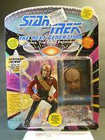 1993 Star Trek Next Generation LT JG WORF Figure Playmates 6073 COLLECTOR CARD 1