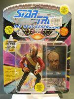 1993 Star Trek Next Generation LT JG WORF Figure Playmates 6073 COLLECTOR CARD 2