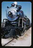 1960 ATSF Santa Fe 4-6-4 Steam Engine #3450  - Orig 35mm Railroad Slide
