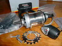 COASTER BRAKE 3 SPEED STURMEY ARCHER BICYCLE HUB & TWIST GRIP SHIFTER NEW