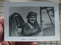 ORIGINAL WWII PHOTO 23RD FIGHTER GROUP ACE JOHN LOMBARD