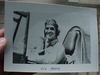 ORIGINAL WWII PHOTO 23RD FIGHTER GROUP ACE ROGER PRYOR