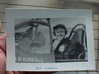 ORIGINAL WWII PHOTO 16TH FIGHTER SQUADRON ACE MEL KIMBALL