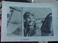 ORIGINAL WWII PHOTO 23RD FIGHTER GROUP ACE MARVIN LUBNER