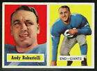 1957 Topps Football ANDY ROBUSTELLI  #71 Excellent   HOF ***