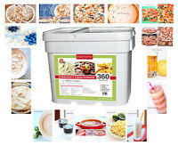 LINDON FARMS 360 SERVING FREEZE-DRIED EMERGENCY SURVIVAL FOOD STORAGE KIT BUCKET