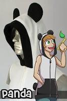 Panda Hoodie Vest, New, Kigurumi, Cosplay, Costume