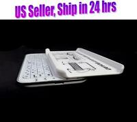 White Slim Wireless Bluetooth Backlit Slide Out Keyboard Case For Apple iPhone 5