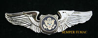 US AIR FORCE ONE WING PIN UP PRESIDENTIAL VC-25 PILOT AFB ANDREWS AIRCREW WOW
