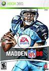 Madden NFL 08 (Microsoft Xbox 360, 2007)
