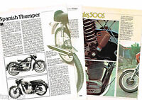 Old SANGLAS MOTORCYCLE Article / Photos / Pictures: 500-S,