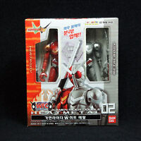 Bandai Masked Kamen rider W Double WFC 02 HEAT METAL Action figure series