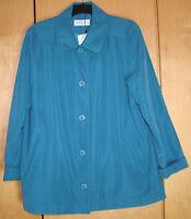 Dannimac Pacific Blue Jacket Size XL   uk 18/20