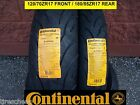 YAMAHA FZ6 TWO CONTINENTAL SPORT TOURING RADIAL MOTORCYCLE TIRE SET