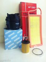 FOR PEUGEOT 206 & 207 1.4 HDI *8V ONLY* DIESEL  SERVICE KIT OIL AIR FUEL FILTER