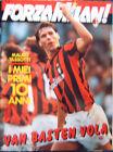 FORZA MILAN!=N°10 1990=VAN BASTEN COVER=MAURO TASSOTTI=PAZZAGLI=AGOSTINI