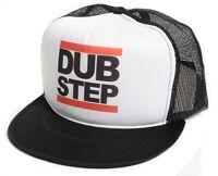 New Retro Dub Step Hip Hop Rap Flat Bill Hat Cap Mesh/Foam Truckers Snapback