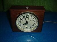 seth thomas clock for parts or repair plastic & wood