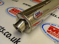 Kawasaki ZX6R F Stainless Round Road Legal /Race MTC Exhaust