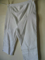 MATERNITY PANTS -  CROP By DUO MATERNITY - Size L
