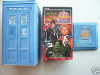 Doctor Who The Trial of a Time Lord Tardis Tin Set ..Colin Baker