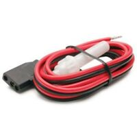 Truckspec TSPSCBH-3 CB Radio 3-Pin 2-Wire Replacement Fused Power Cord Plug 12v