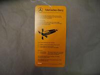 MERCEDES W123 W107 W116 R107 W124 W126 CRUISE CONTROL TEMPOMAT INSTRUCTION CARD