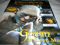 Lord of the Rings Figures - Issue 9 - Gollum at Emyn Muil - Eaglemoss ****