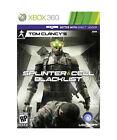 Tom Clancy's Splinter Cell Blacklist BOTH DISCS  W/CASE Microsoft Xbox 360 GAME