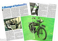 Old WANDERER MOTORCYCLE Article / Photo's / Pictures