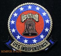 USS INDEPENDENCE CVA-62 PATCH US NAVY USS CARRRIER CVA CV CVN PILOT AIRCREW WOW