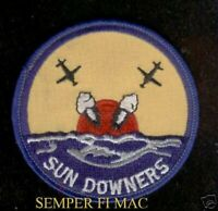 VF-111 SUN DOWNERS PATCH F-14 TOMCATS AIRCRAFT US NAVY