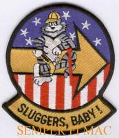 VF-103 SLUGGERS F-14 TOMCAT F-4 PHANTOM US NAVY PATCH USS NAF NAS PILOT CREW WOW