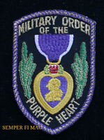 PURPLE HEARTHAT  PATCH US MARINES NAVY ARMY AIR FORCE USCG PIN UP RIBBON MEDAL