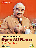 OPEN ALL HOURS - COMPLETE SERIES 1 - 4 - BOXSET - NEW / SEALED DVD
