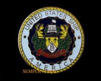 USS AMERICA CVA-66 CV LOGO HAT LAPEL PIN USN US NAVY CAG WING GIFT TIE TAC WOW