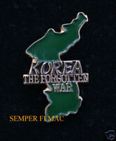 KOREAN VETERAN HAT PIN KOREA VET US NAVY ARMY AIR FORCE MARINES COAST GUARD WOW