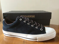 Mens/Womens Converse Star Player Ox Trainers, Black Suede, Size 7, 8, & 9, BNWB