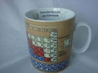 Chemie Periodensystem  Becher Könitz Porzellan 400ml 0,4 Liter Tasse