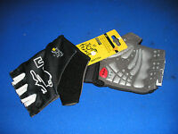 Tour de France yellow jersey series cycling/bike mitt non slip gel MEDIUM size