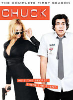 Chuck - The Complete First Season 1 (DVD, 2008, 4-Disc Set)   ****BRAND NEW****
