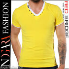 Redbridge by Cipo & Baxx T-Shirt Maglietta Uomo ADDITION giallo R.1597