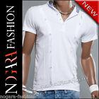 Kickdown T-Shirt Maglietta Uomo bianco 5026 TG. S