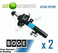 2 x BOGE FRONT SHOCKERS PAIR STRUTS SHOCK ABSORBERS GENUINE OE QUALITY 32.Q31.A