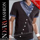 Kickdown T-Shirt Maglietta Uomo NASTY nero 5003 TG. L