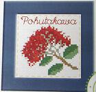 New Zealand Pohutakawa flowers -Semco counted cross-stitch card kit