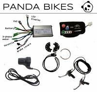 Pandabär Eco DIY: Elektrofahrrad eBike set Hall Sensor, 36V 48V , 500-1000W