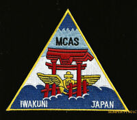 US MARINE CORPS AIR STATION MCAS IWAKUNI PATCH 1st MAW PIN UP WING GIFT WOW USMC